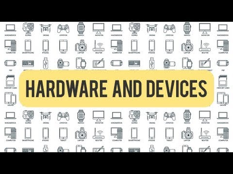 Hardware And Devices - Outline Icons | After Effects template