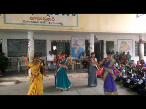 Asaidula Harathi Song || Anil Creative Works || ZPHS Balapur Republic Day Celebrations - 2K17