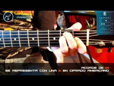 Tutorial Los 7 Acordes de Guitarra / Acordes de Guitarra Para Principiantes (HD) - Christianvib