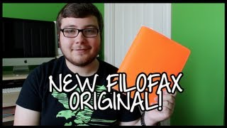New Filofax Original! (A5 - Fluoro Orange) Thumbnail