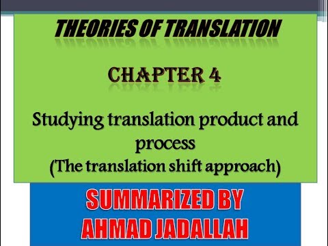 Introducing Translation Studies (Theories and applications) Jeremy Munday - Summary of Chapter 4