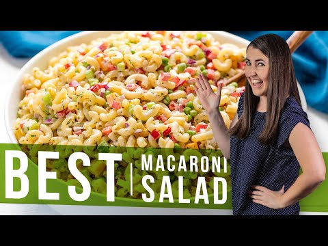 How to Make The Best Macaroni Salad | The Stay At Home Chef