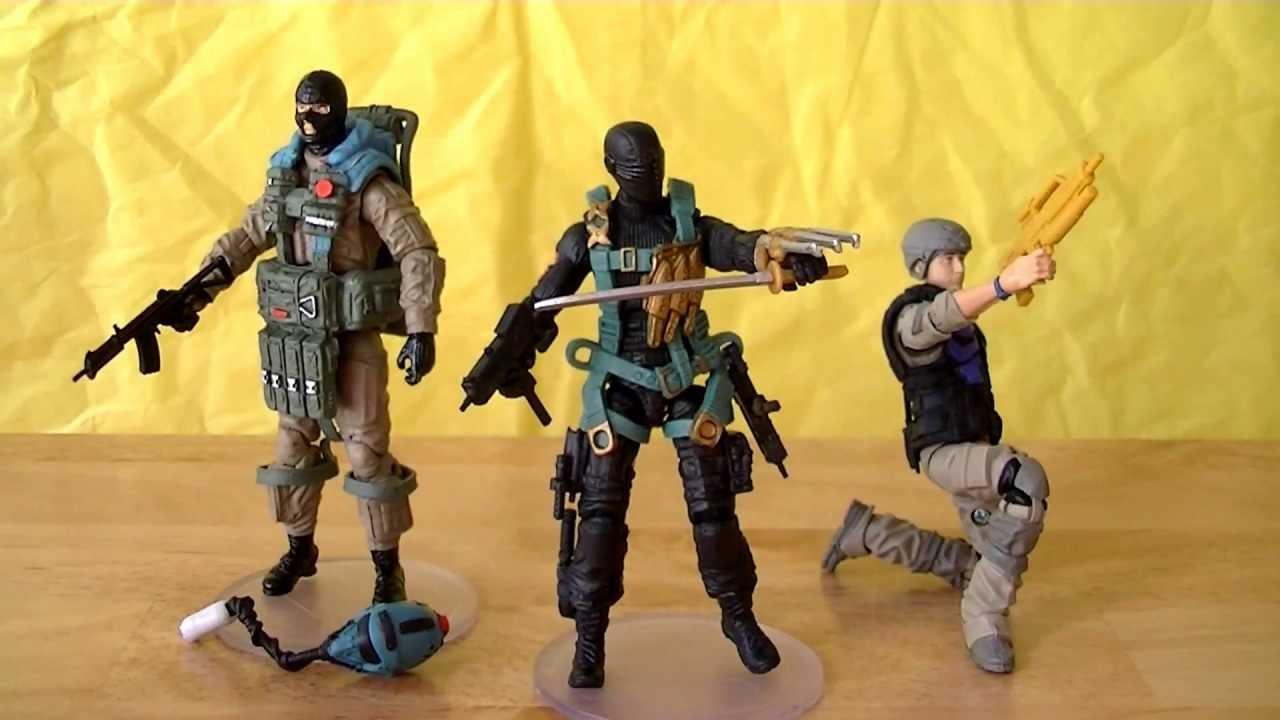 Joe Retaliation Action Figure Cobra Combat Ninja 3.75 Inch G.I