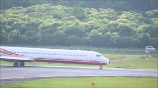 2014年6月28日阿蘇くまもと空港高雄→熊本→高雄チャーター.