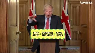 Live: Boris Johnson leads the daily government coronavirus briefing - May 28   ITV News