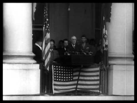 Inauguration of Franklin D. Roosevelt 1945