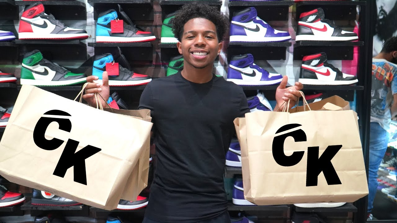Deshae Frost Goes Shopping For Sneakers With CoolKicks
