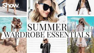 Summer Wardrobe Essentials 2019 + How To Style | SheerLuxe Show