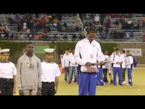 Juma Mouchette Wins Bronze Carifta Bermuda Apr 9 2012