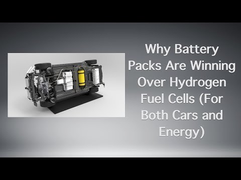 Why Battery Packs Are Winning Over Hydrogen Fuel Cells (For