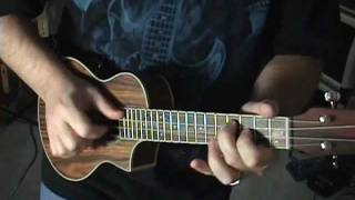 Electric Ukulele Blues Jam Lesson For Guitar Players With Scott Grove
