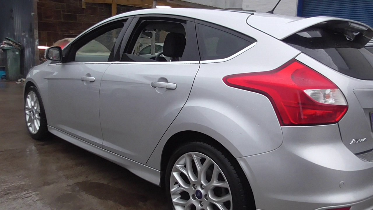 ford focus 1.6 182 ecoboost zetec s 5dr u38541 - youtube