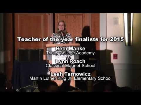 2015 Teacher of the Year Banquet - 5/22/2015