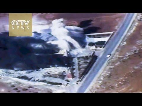 Syria crisis: Fresh wave of airstrikes hit eastern Aleppo