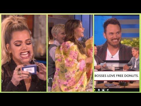 Funniest Celebrities Moments on Ellen
