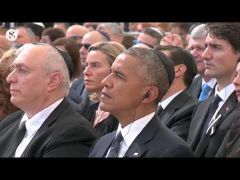 The Funeral Of Former Israeli Prime Minister And President Shimon Peres Starts Jerusalem