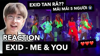 [REACTION] EXID(이엑스아이디) - ME&YOU   LEMO Reaction