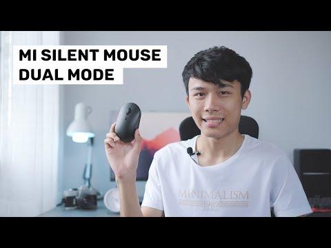 Mi Silent Mouse เม้าส์ไร้สาย ไร้เสียง 2 ระบบ เปลี่ยนโหมดได้ภายใน 1 วินาที !!