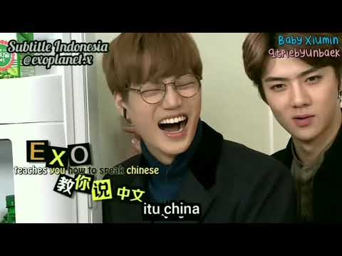 [Indo Sub] Yummy Yummy EXO (Kai Dan Sehun) 720p