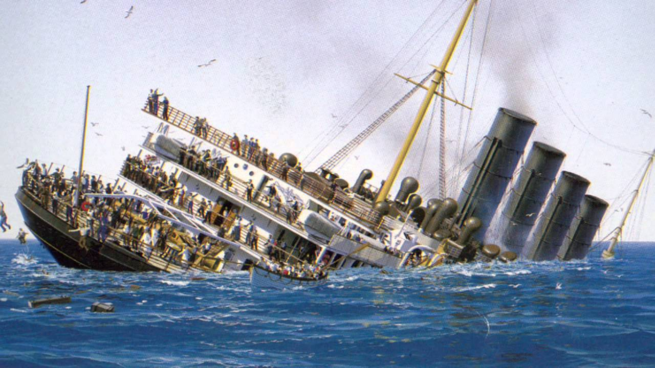 Famous Ships That Sank Youtube