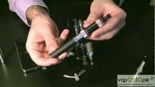 Présentation cigarette électronique - atomiseurs et clearomiseurs