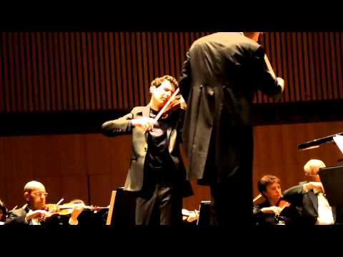 Mendelssohn's Violin Concerto in Tel Aviv - Robertson, Zorman & the IPO at their best! (Part 1)