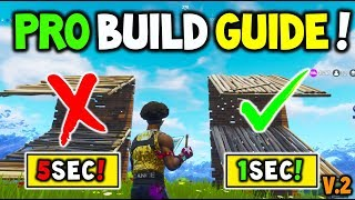How to Build like a PRO In Fortnite Battle Royale V3.3+ (MASTER BUILDING Guide to help you WIN!) V2!