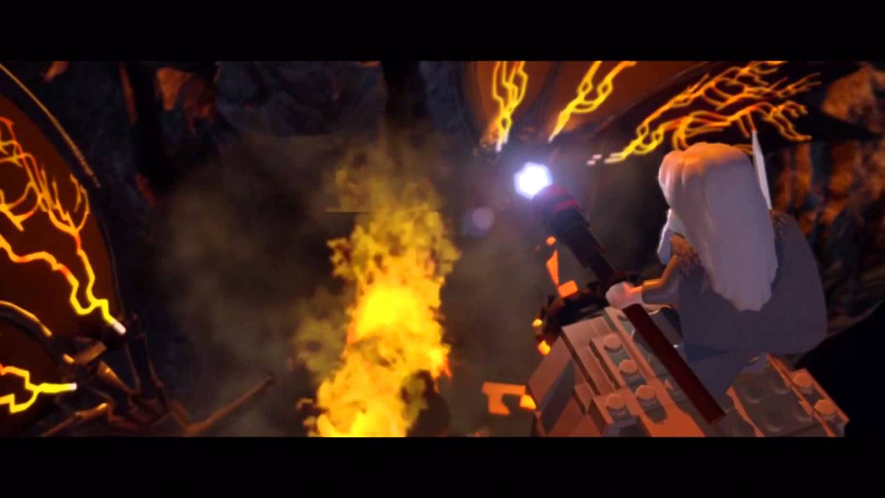 Lego Lord Of The Rings Balrog Gameplay
