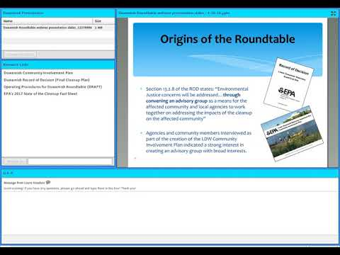 A Seat at the Table Duwamish Superfund Cleanup Roundtable Webinar 1 0