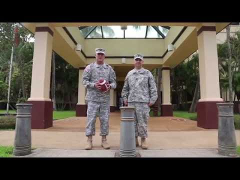 25th Infantry Division Army Football Spirit Video