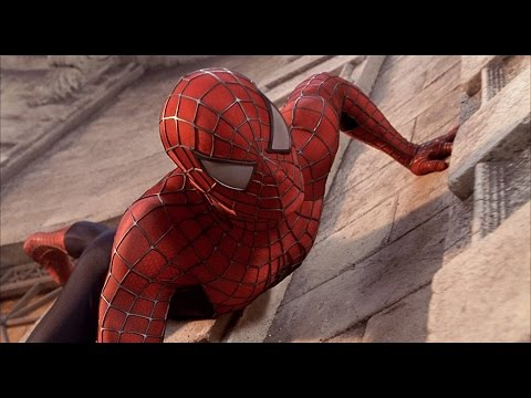 Spider man 1 2002   Spider Man VS Green Goblin  First Fight