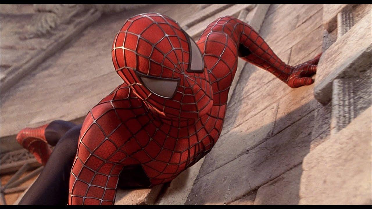spider man 1 2002 spider man vs green goblin first fight. Black Bedroom Furniture Sets. Home Design Ideas