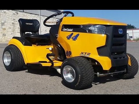 Cub Cadet Bp Racing Lawn Mower First Test Youtube
