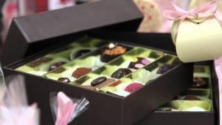 видео Шоколадные корпоративные подарки, эксклюзивный и натуральный бельгийский шоколад в подарок
