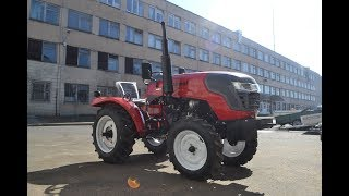 Обзор мини-трактора Rossel RT 242D