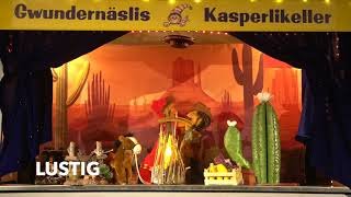 Trailer Dr Kasperli im Wilde Westä