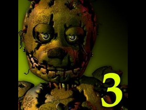 FNAF 3 XBOX 360 Map Gameplay.