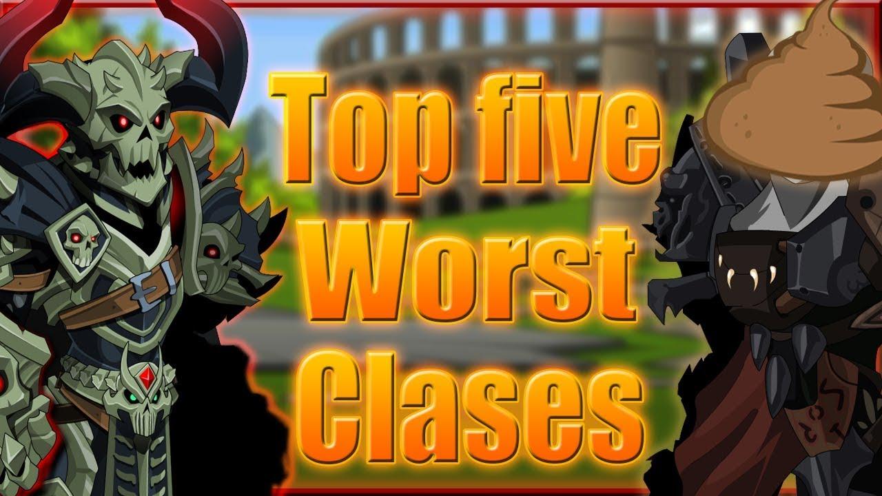 AQW - Top five worst classes in Adventurequest worlds