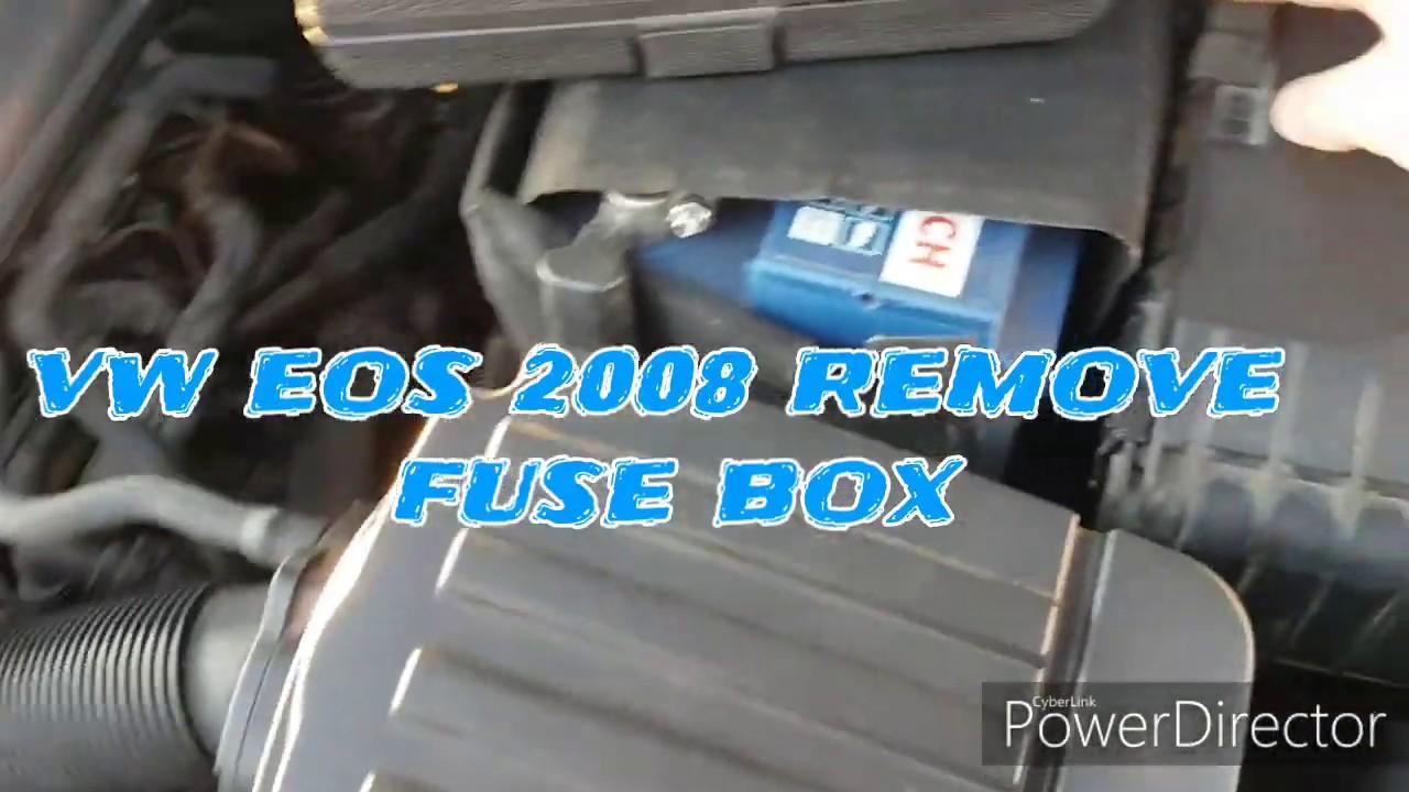 VW eos 08 Remove Fuse Box - YouTubeYouTube