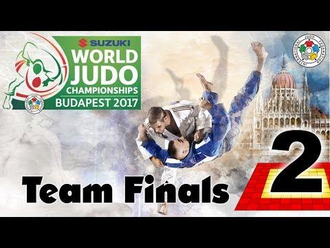 Suzuki World Judo Championships 2017: Teams - Final Block