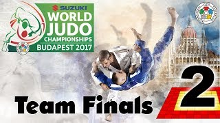 Suzuki World Judo Championships 2017: Teams - Final Block