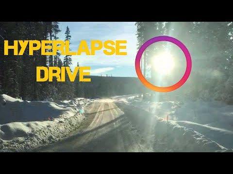 Hyperlapse Drive - March 10th 2018