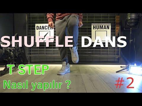 Shuffle Dance Nasıl Yapılır ?  ''T - STEP''  Öğren [ DERS #2 ]