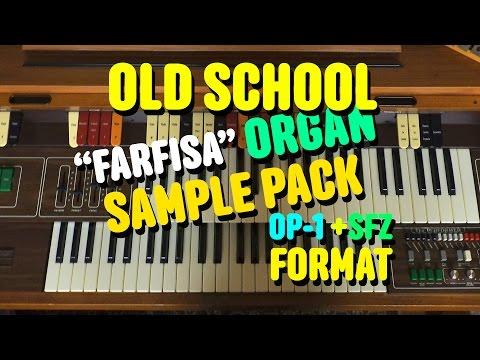 Organ pack OP-1 + SFZ + Samples download