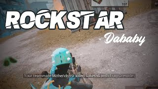 DaBaby - ROCKSTAR (Live From The BET Awards/2020) ft. Roddy Ricch (PUBG MOBILE) #dababy #rockstar