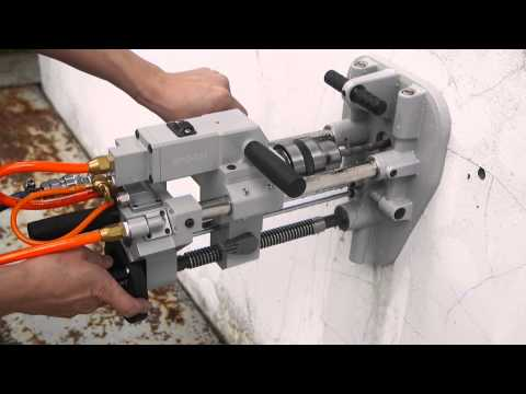 GPD 231 Wet Air Drilling Machine include Vacuum Suction Fixing Base for Wet Drilling
