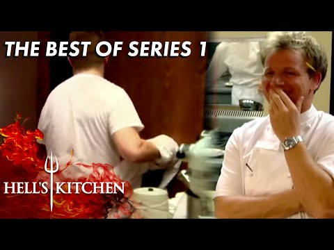 The FUNNIEST Moments of Season 1 | Hell's Kitchen