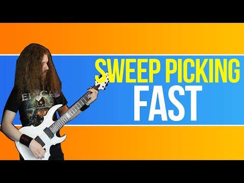 Modern Metal Lead Guitar, Lesson 2 - Basic Sweep Picking (Three Strings)
