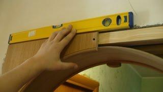 видео Пошаговая инструкция: как сделать арку своими руками из ДВП, МДФ, кирпича
