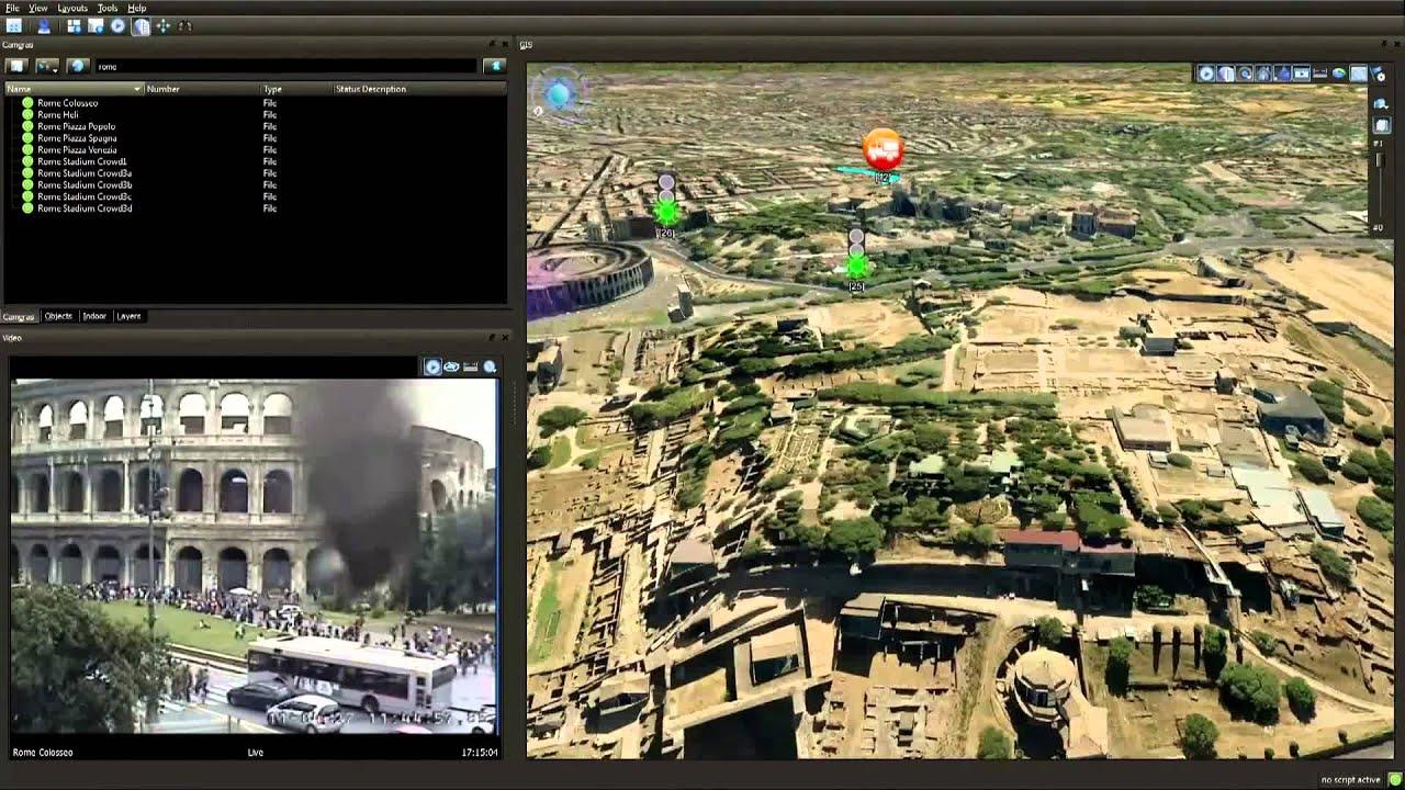 Terra 4d psim rome fire youtube